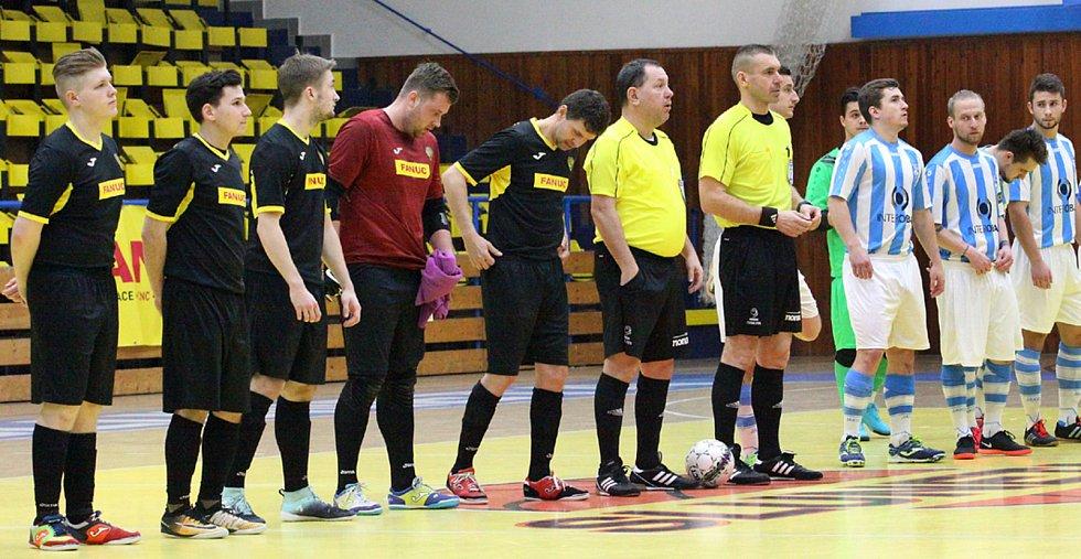 Futsalová 2. liga, Rapid Ústí - Interobal Plzeň B 5:5 (3:3)