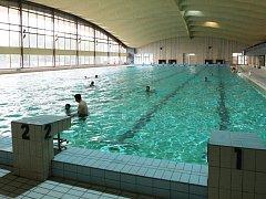 Plavecká hala Klíše. Ilustrační foto