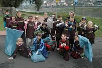 Žáci pátých tříd Základní školy ve Velkém Březně se zapojili do čtvrtého ročníku dobrovolnického projektu 72 hodin.