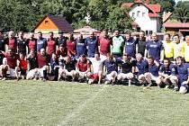 Utkání FK Malečov - Stará garda AC Sparta Praha