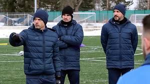 Zleva David Jarolím, Adam Malík a Richard Stražan.