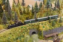 Ilustrační snímek. Model železnice.