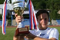 Obránce Alois Hyčka letos s Armou vybojoval triumf ve druhé lize. Nyní přestoupil do kádru Brna.