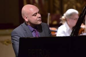 Klavírní virtuóz Michal Mašek.