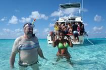 Z karibské cesty, kterou podnikla na lodi MSC Poesia, zaslala snímky Ústečanka Jarmila Fišerová. Šnorchlování frčí i na Kajmanských ostrovech.