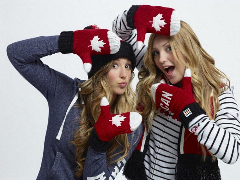 Oblečení kanadských sportovců.