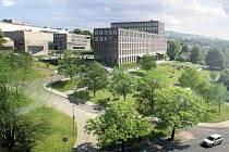Vítězný návrh centra přírodovědných a technických oborů (CPTO).