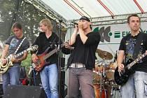 David Spilka se svou kapelou James D. S.