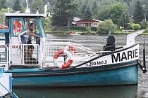 Výletní loď Marie na archivním snímku