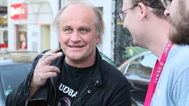 Michael Kocáb na koncertu v Ústí nad Labem.