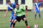 Ve třetím kole Korona Cupu porazil tým Svádova - Olšinek (zelenočerní) soupeře z Libochovic (modří) 6:4.