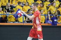 volejbal, hráč č 9 Bartůněk, foto pro Prahu