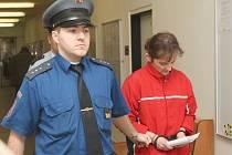 Před krajským soudem stanula Polka, která je obžalovaná z vraždy svého druha.