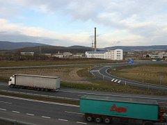 Místo plánované elektrárny u Ústí nad Labem.