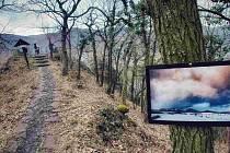 V neděli skončila výstava snímků Českého středohoří od Miroslava Laubeho. Jeho fotografie visely na stromech poblíž turistické cesty od Vaňovských vodopádů k vyhlídce na skalním útvaru Vrkoč. Z původních 35 snímků jich jedna třetina zmizela.