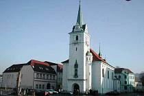 Kostel v Trmicích.
