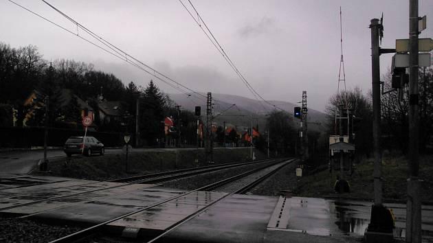 1. duben 2016 v Ústeckém kraji. Ošklivo, zima, déšť.