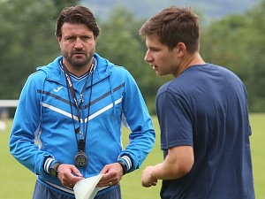 Trenér fotbalistů Ústí nad Labem Jiří Skála.