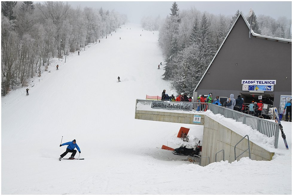Policisté pomáhali na Telnici v rámci 7. ročníku akce Bezpečně na lyžích.