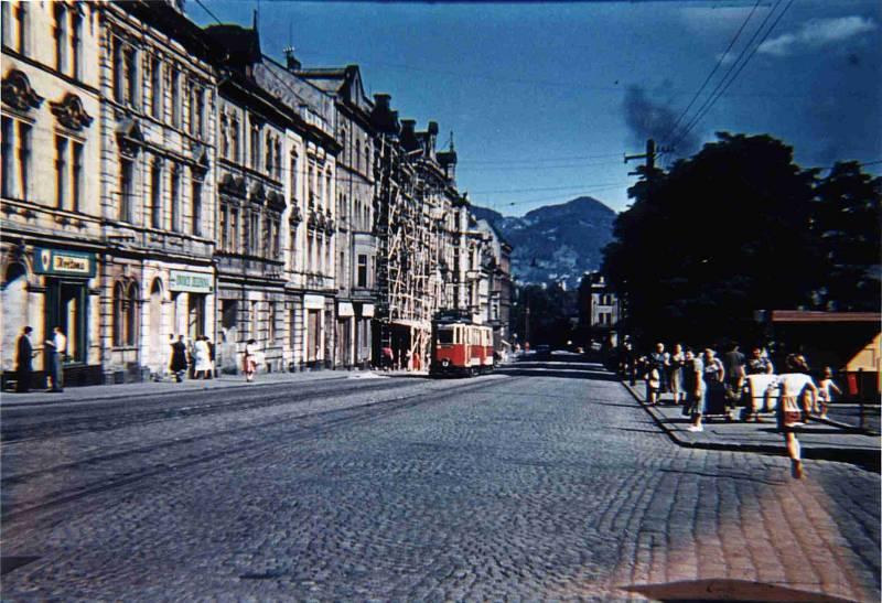 Snímek z roku 1956.