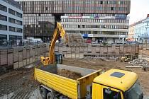 Centrum služeb by mohlo vzniknout v domě, jehož stavba se připravuje na Mírovém náměstí.