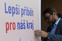 Spojenci pro kraj s lídrem Jiřím Řehákem (na snímku)