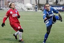 Fotbalisté Army si vyšlápli na silný Liberec