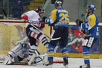 Hokejové utkání Ústí nad Labem - Benátky.