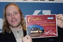Jedním ze šťastných výherců soutěže Ústeckého deníku o večeři s noclehem v hotelu Ostrov je David Skála.