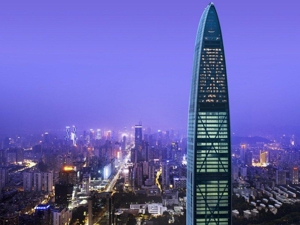 The St. Regis Šen-čen, Čína – 442 m.