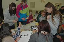 Žáci ze ZŠ Palachova se zúčastnili programu na vytváření vztahu k umění.