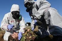 Vojáci několika armád NATO si v Tisé ověřují schopnost spolupráce.