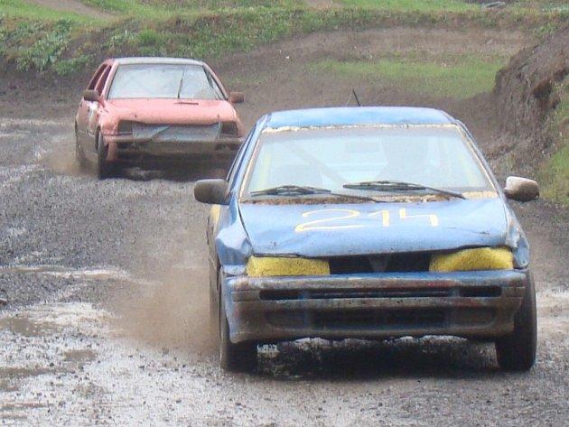 Autocross v Chabařovicích.