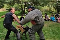 Táborová setkání ústeckých strážníků s dětmi.