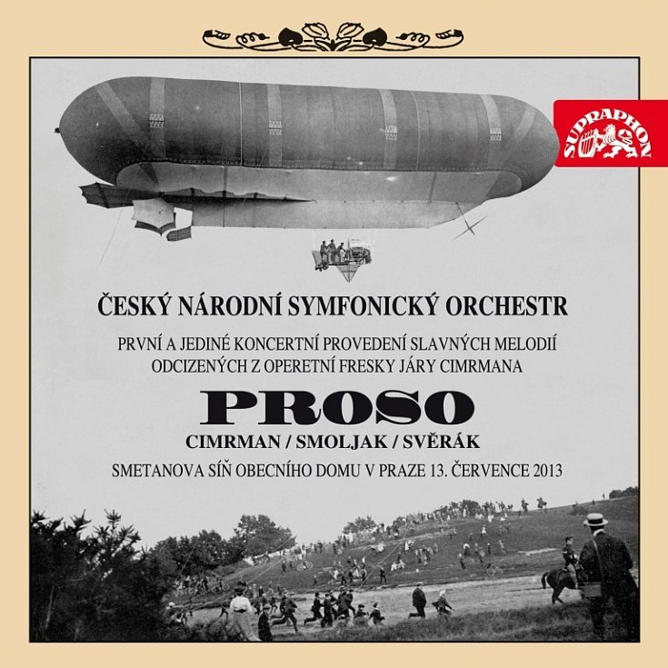 Cimrmanology čeká extáze. Opera Proso, unikát, vyjde na CD s DVD.