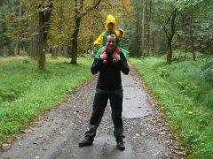 Ivan Buchta s dcerou.