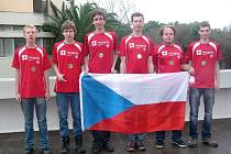 Zleva: Pavel Turek, Radovan Švarc, Filip Bialas, Tomáš Novotný, Viktor Němeček, Martin Hora.
