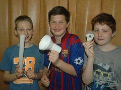 Do ekologie se ve čtvrtek ponořily děti ze Základní školy Mírová.