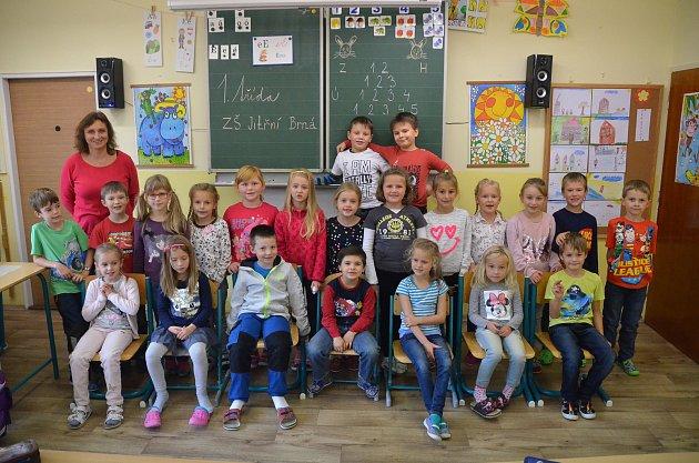 1. třída ZŠ Brná