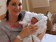 Martin Vais se narodil 20.9. (16.43) Kateřině Vaisové. Měřil 50 cm, vážil 3,25 kg.