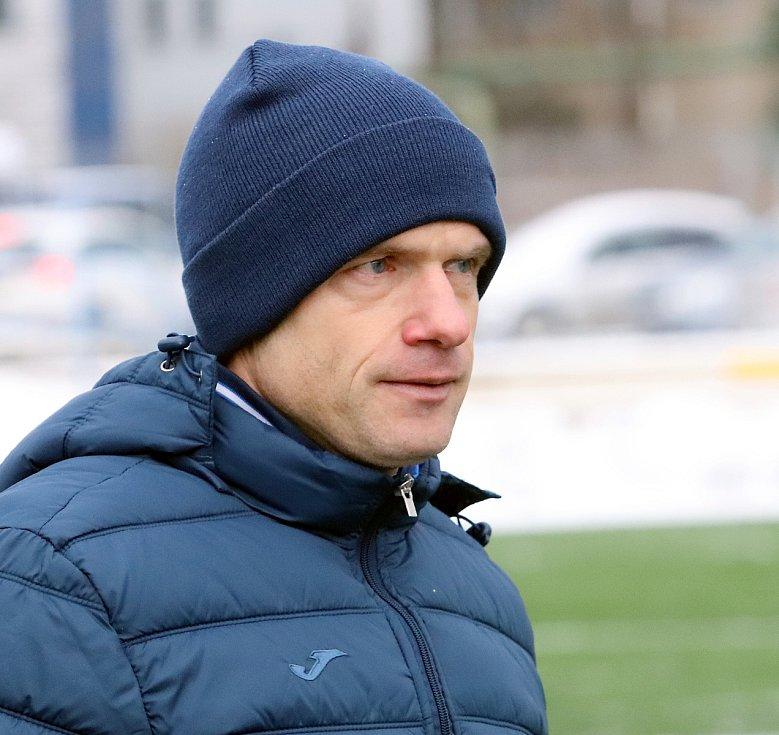 Trenér FK Ústí nad Labem David Jarolím
