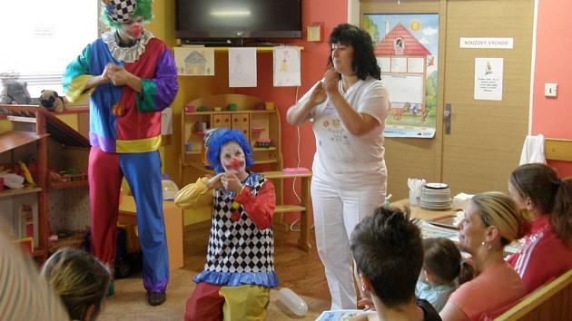 Den hygieny rukou v ústecké Masarykově nemocnici.