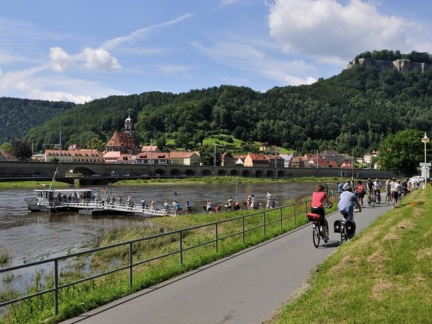 Sasko Labská cyklostezka, nejoblíbenější cyklistická trasa Německa, nabízí kromě skvělých zážitků na kole také jedinečné kulturní poklady.