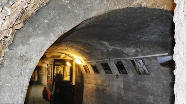 EXPOZICI Důl Richard v proměnách času naleznete v chodbách sklepení přímo pod litoměřickou radnicí.