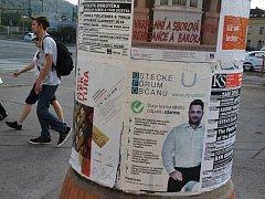 Volební kampaň v Ústí nad Labem.