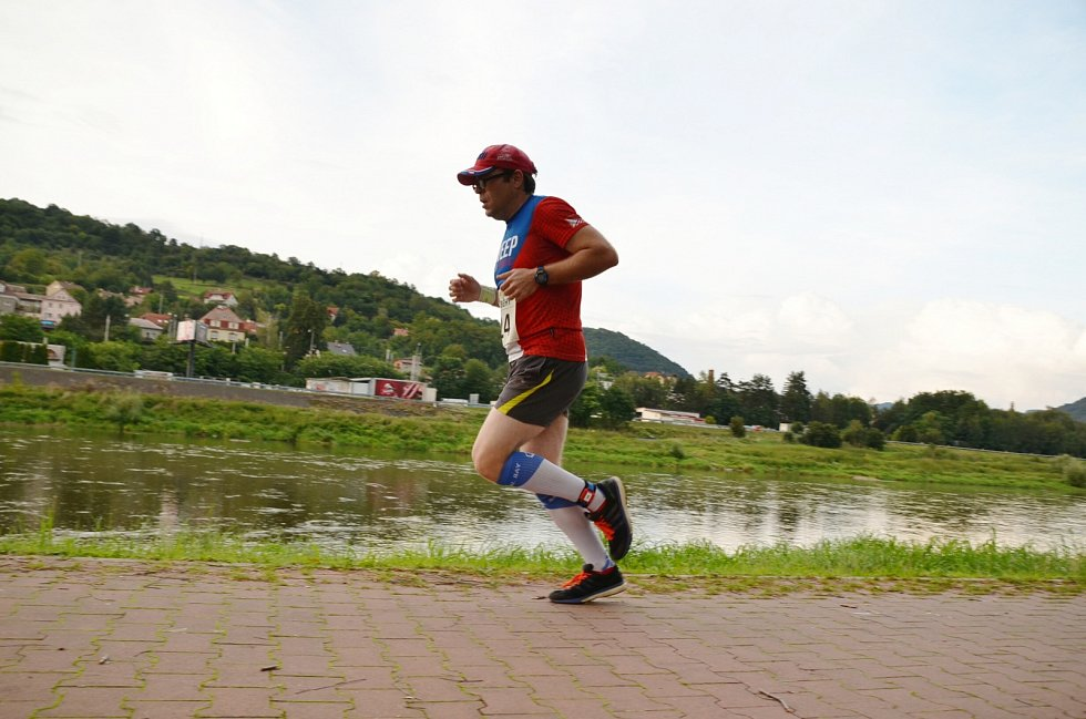 Závod Prima běhů ve Velkém Březně