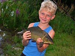 Rybářské prázdniny u pradědečka se líbily.