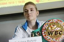 Fabiana Bytyqi, držitelka světového pásu a vítězka ankety.