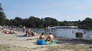 Tegelersee - druhé největší jezero v Berlíně.