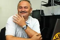František Hrdlička, ředitel FK Teplice, při on-line rozhovoru v Deníku.